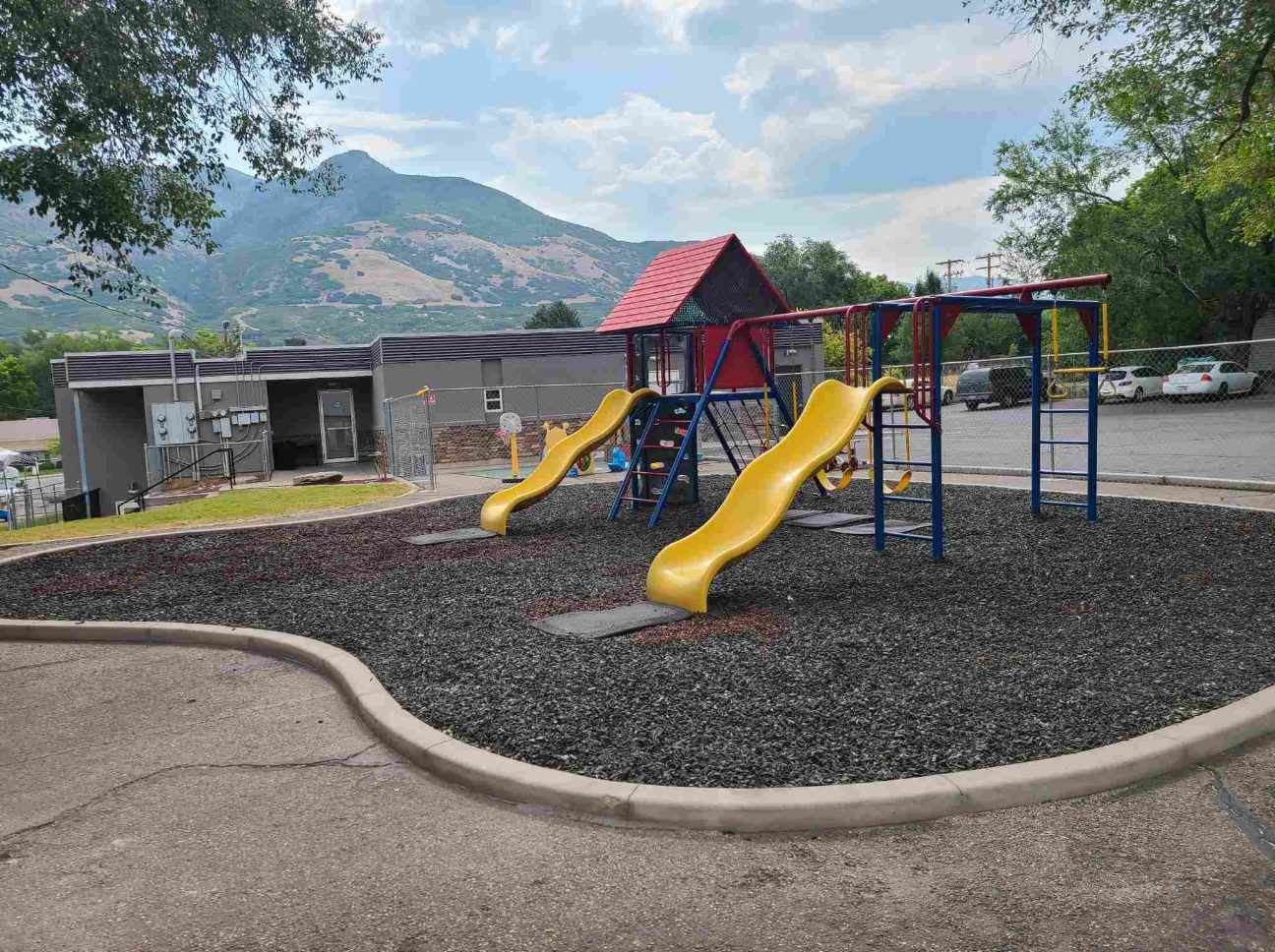 Discovery Playhouse East Ogden campus playground