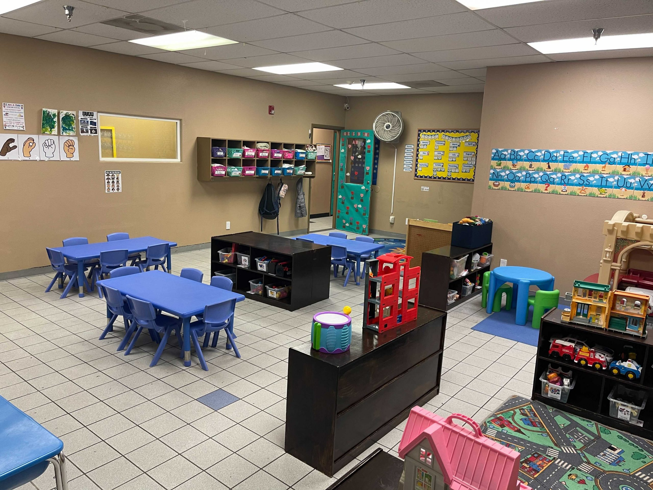 Classroom at Discovery Playhouse St. George Campus